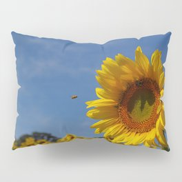 Sunny Summer Sunflower Pillow Sham