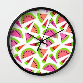 Juicy, juicy watermelon ... Wall Clock