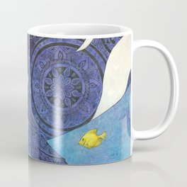 The Traveler Orca and Fish Coffee Mug