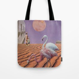 In the shadow of the blushing moon Tote Bag