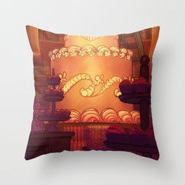 A Committed Baker Throw Pillow