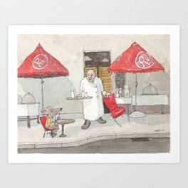 Mouse on the House Art Print