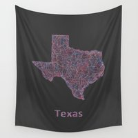 texas Wall Tapestries featuring Texas by David Zydd