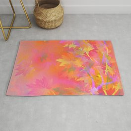Leaves Changing Colors Rug