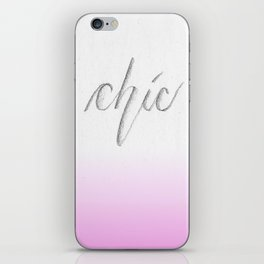 The Chic iPhone Skin