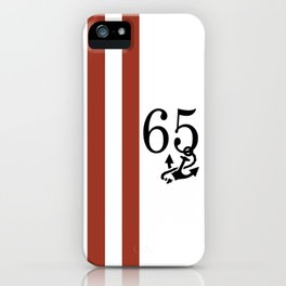 Nautical Number Print iPhone Case