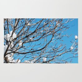 Winter Time Tree Rug