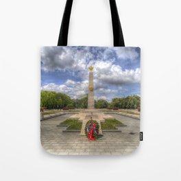Russian War Memorial Budapest Tote Bag