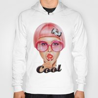 lips Hoodies featuring Cool Redux by Giulio Rossi
