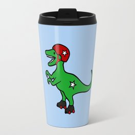 Roller Derby Velociraptor Travel Mug