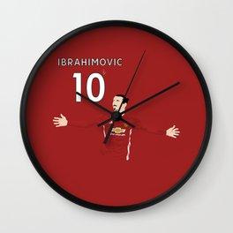 Zlatan Ibrahimovic - Manchester United Wall Clock