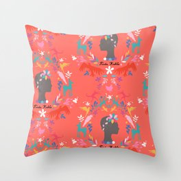 Frida Cameo in Tamale Throw Pillow