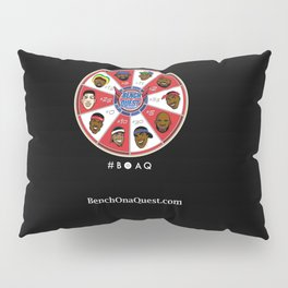 B*O*A*Q: Bench On a QUEST Pillow Sham