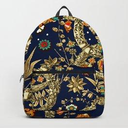 Art Nouveau Floral Pattern Backpack