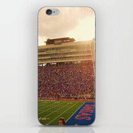 KU Memorial Stadium  iPhone Skin
