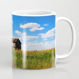 Barns on the Canadian Prairie Coffee Mug