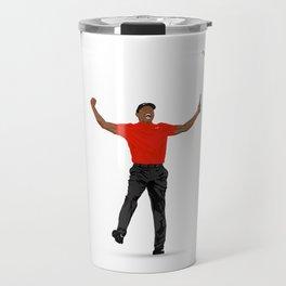 Tiger Woods Masters Champ (White) Travel Mug