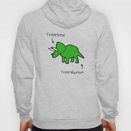 Triceratops Tricerabottom Hoody
