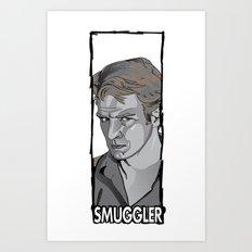 Smuggler Art Print