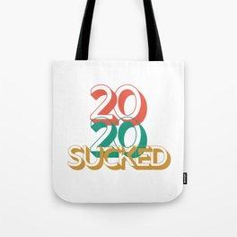 2020 Sucked Retro Tote Bag