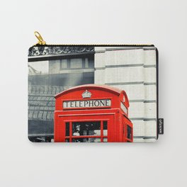 British Telephone Booth Carry-All Pouch