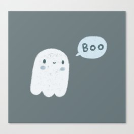 Scary Ghost Canvas Print