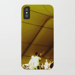 Golden Glimmer iPhone Case