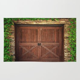 Door and Ivy Backdrop Rug