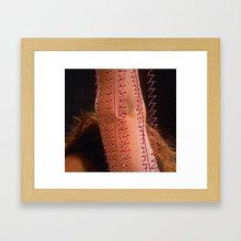 The elbow Framed Art Print