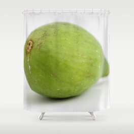 Green Fig Shower Curtain