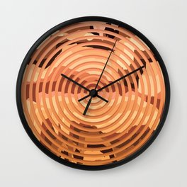 TOPOGRAPHY 2017-000 Wall Clock