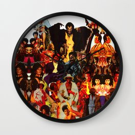 The Black Invasion Wall Clock