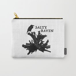 Salty Raven Brand Logo Carry-All Pouch