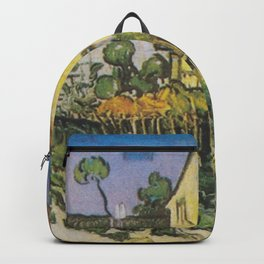 Vincent van Gogh - The House of Pere Eloi Backpack