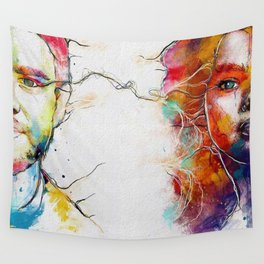 Eye Contact Wall Tapestry