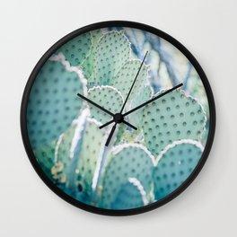 Paddle Cactus Wall Clock