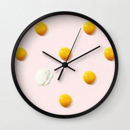 Yolka Dots Wall Clock