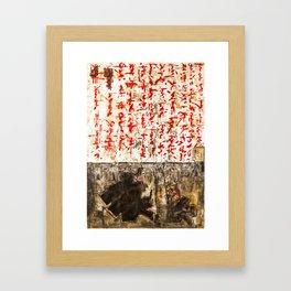 Music landscape 170618R Framed Art Print