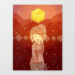 Gold Wins Canvas Print