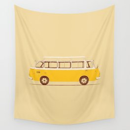 Yellow Van II Wall Tapestry