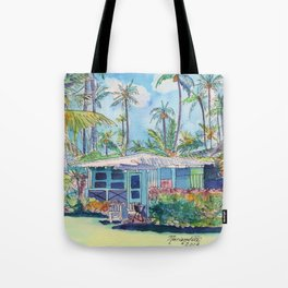 Kauai Blue Cottage 2 Tote Bag