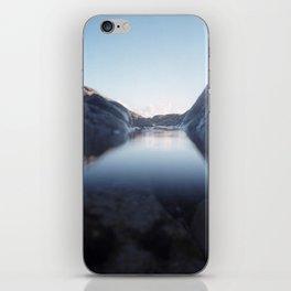 Evening Rockpool iPhone Skin