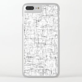 Ambient 77 in B&W 1 Clear iPhone Case