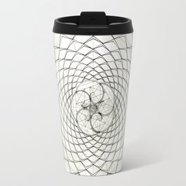 Fractal Star Travel Mug