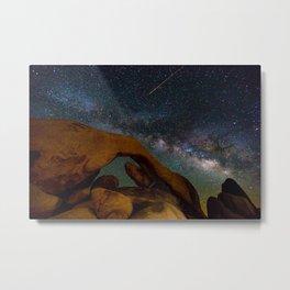 Arch Rock at Joshua Tree National Park Metal Print