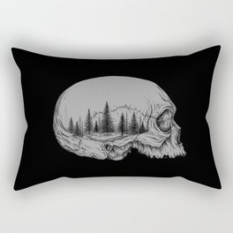 SKULL/FOREST II Rectangular Pillow