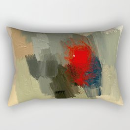 Hunting the White Dwarf in the Red forest no. 2 Rectangular Pillow