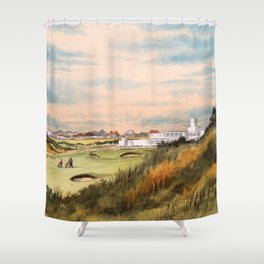 Royal Birkdale Golf Course Shower Curtain