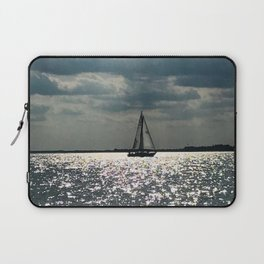 """""""Lake Erie Sailboat"""" photography by Willowcatdesigns Laptop Sleeve"""
