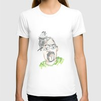 kevin russ T-shirts featuring Kevin by Sadie Padial